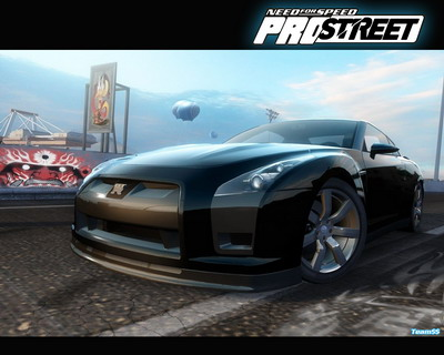 NFS ProStreet: Nissan GT-R Proto Gameplay Video